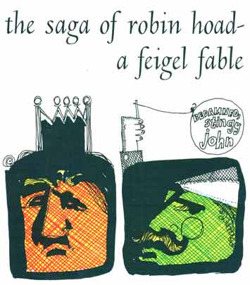 Big saga of robin hoad illustration