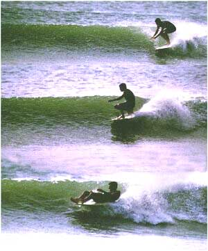 Topnaga wave sequence - by Bill Cleary